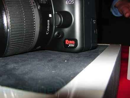 Hands-on with the Canon EOS Rebel XSi DSLR
