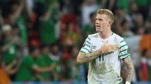 Ireland star McClean fined over balaclava post