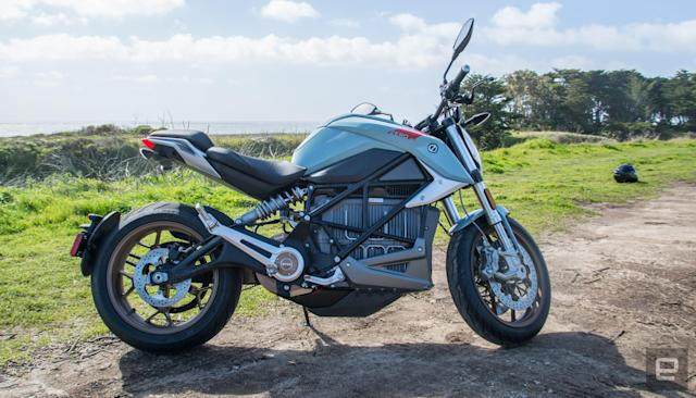 Zero's SR/F electric motorcycle is quicker and now more connected