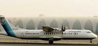 Plane carrying 66 people crashes in Iran