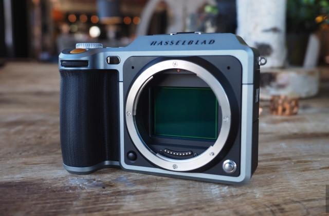 Hasselblad's X1D is a medium-format mirrorless camera