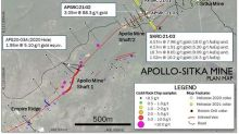 Heliostar Drills 88.3 g/t Gold over 3.05 Metres and 19.3 g/t Gold over 4.57 Metres at Apollo, Unga Project, Alaska