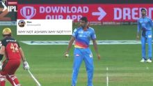Ravichandran Ashwin Just Trolled All of Us by Not 'Mankading' Aaron Finch and IPL Fans are Stunned