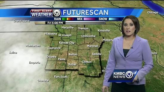 Friday starts off cool as rain closes in