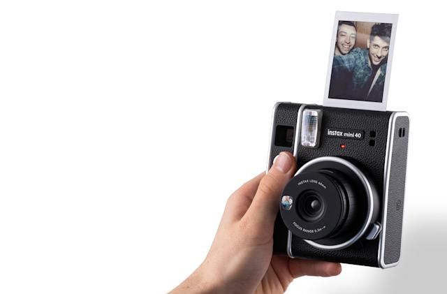 Fujifilm's $100 Instax Mini 40 offers vintage looks and simple features