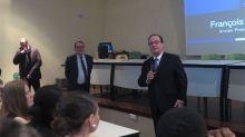 Marine Le Pen ne veut pas de François Hollande à Hénin-Beaumont