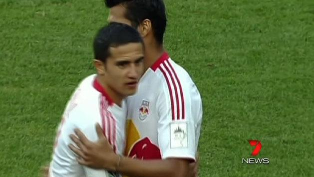 Cahill makes Red Bulls debut