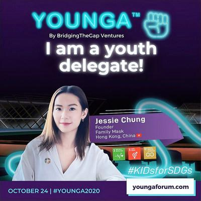 Local Young Leader Selected as a Youth Delegate for the 2020 YOUNGA Forum--Global Takeover of the United Nations