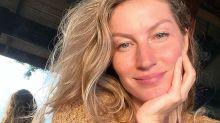 """Prestes a fazer 40 anos, Gisele Bündchen diz se arrepender de plástica: """"Não sei se faria novamente"""""""