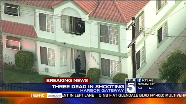 3 Dead, 1 Wounded in Harbor Gateway Shooting