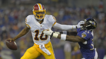Is RG3's fantasy draft stock plummeting?
