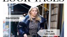 Look des Tages: Elsa Hosk doppelt wild im Animal-Print-Look