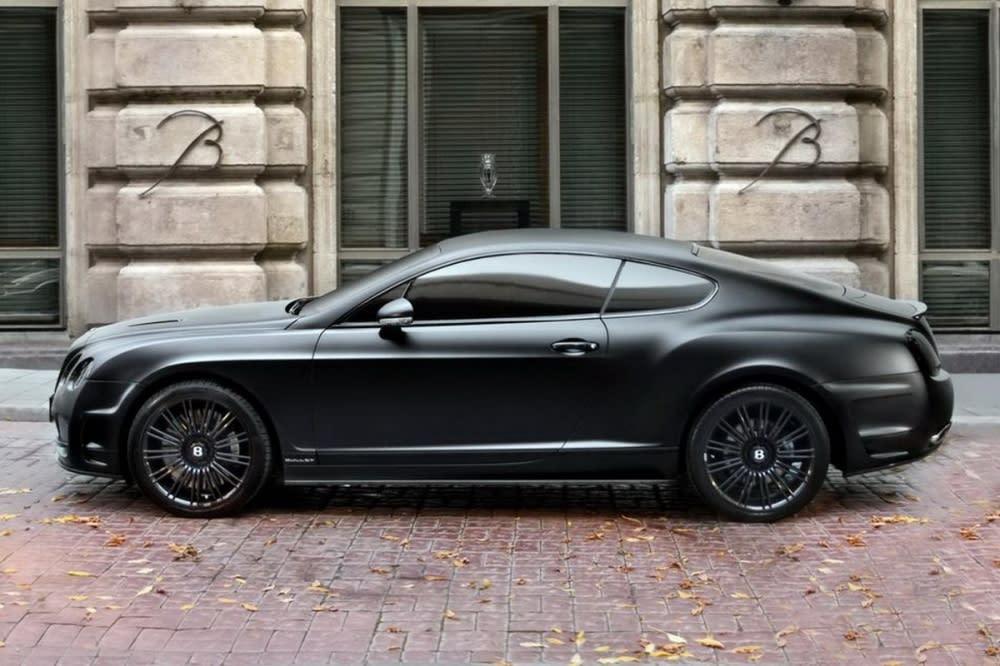 「黑到骨子裡了!」俄羅斯改裝大廠TopCar精心打造Bentley Continental GT