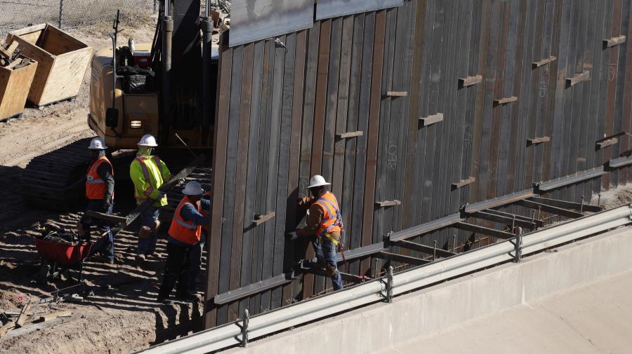 US states sue Trump over emergency wall declaration