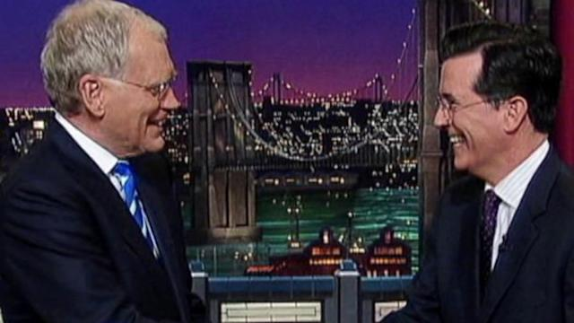Instant Index: It's Official: Stephen Colbert to Take David Letterman's Place