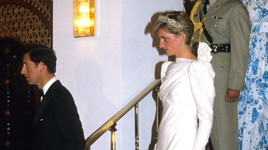 Une robe de Lady Di retrouvée... dans une friperie
