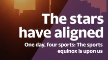 The sports equinox is upon us