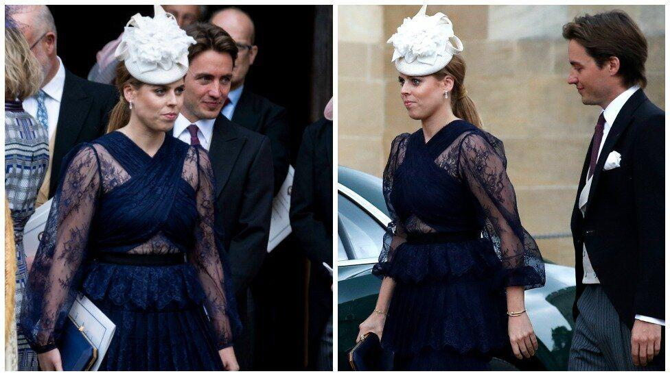Princess Beatrice makes first official royal appearance with new boyfriend