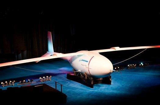 Boeing Phantom Eye unmanned spy plane stays aloft four days, sort of bums us out