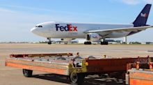 Go on the ramp at FedEx World Hub as it readies for the holiday rush