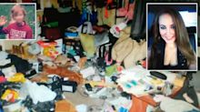 Mum leaves son locked inside filthy unit for days without food or water