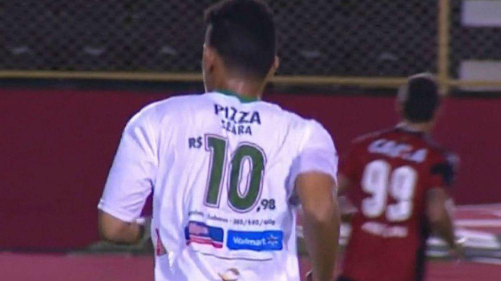 La trovata del Fluminense di Feira: prezzi al posto dei numeri di maglia