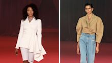 Naomi Campbell hits the Paris Fashion Week catwalk with Kaia Gerber in tow