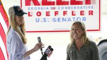 Candidate who embraces QAnon endorses Loeffler for Senate