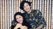 Gwen Zamora gives birth to her first baby