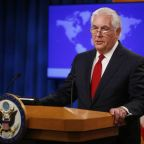 Tillerson to talk soon with successor nominee Pompeo: State Department