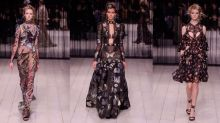 Alexander McQueen Returns To London Fashion Week With One Magical Show