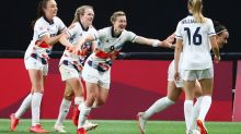 Olympics-Soccer-U.S. rebound with 6-1 win over NZ, Britain and Sweden enter quarters