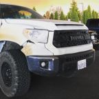 Toyota to replace heroic nurse's fire-scorched Tundra pickup