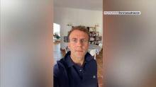 """Macron répond aux anti-pass sanitaire : sans lui, """"on serait obligé de refermer"""""""