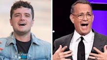 Josh Hutcherson once farted in Tom Hanks's face