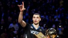 Video: Zach LaVine apparently does 360 dunks from the free throw line now