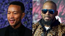 John Legend shuts down R. Kelly supporters calling him a 'hypocrite' for posing with Harvey Weinstein in old photo