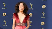 Sandra Oh is nominated for a Golden Globe and hosting the show. That's a big freaking deal for Asian representation.