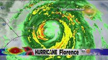 Hurricane Florence slams into southeastern coast of United States