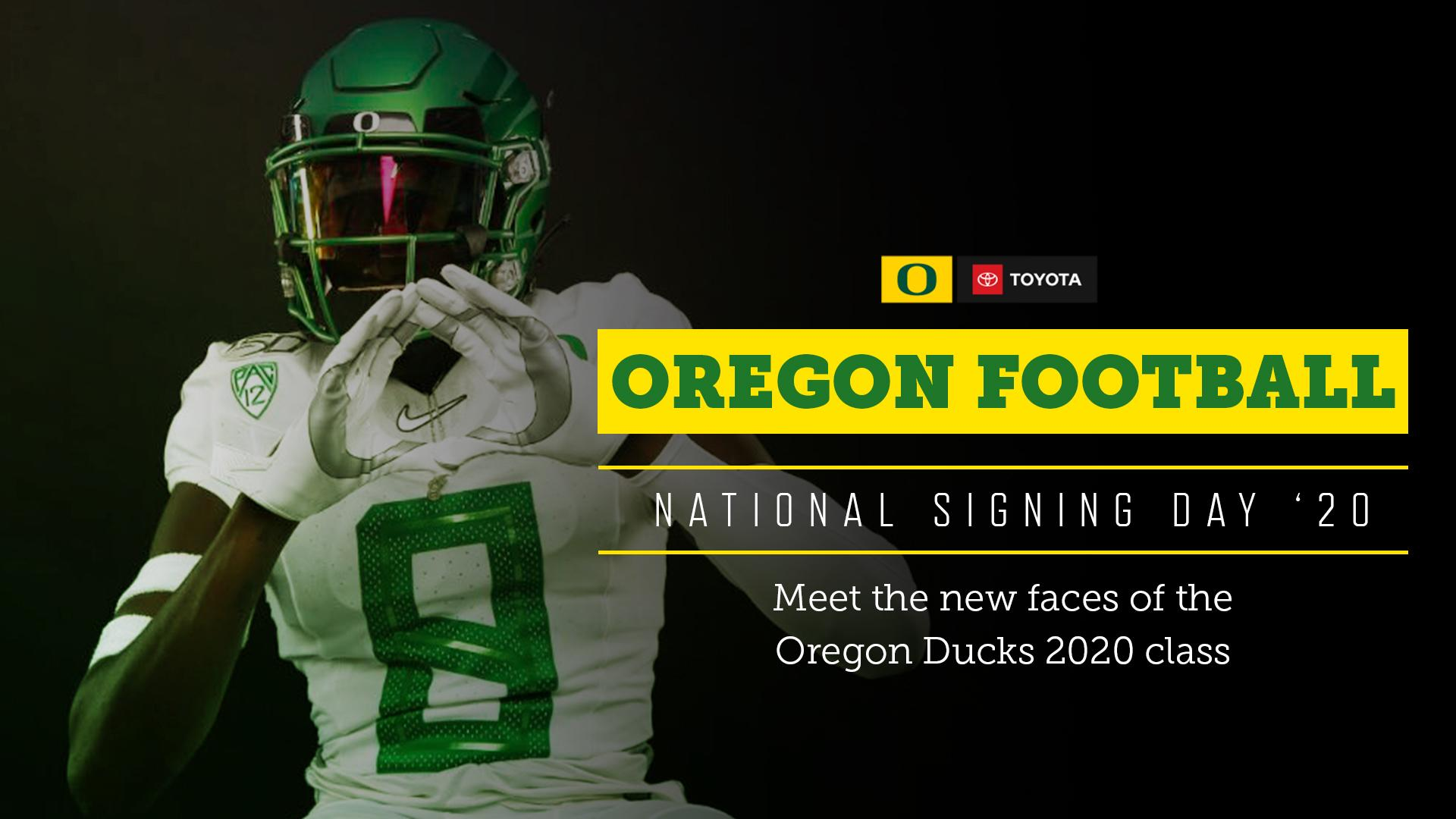 National Signing Day '20: Meet the new faces of the Oregon ...
