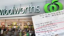 Customer slams Woolworths over $333 scanning error