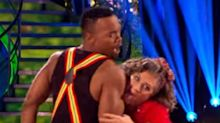 Strictly Come Dancing's Caroline Quentin Licked Partner Johannes During Cha Cha Routine And Viewers Have Thoughts