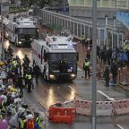 Lawmakers on each side blame the other in Hong Kong protests