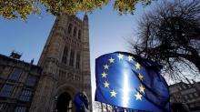 The Latest: Germany open to UK request for delay on Brexit