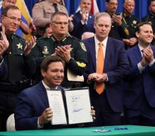 What is in the Florida anti-riot bill branded a 'disgrace' by critics?