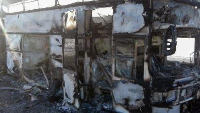 Kazakhstan bus inferno kills 52 people