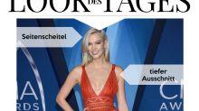 Look des Tages: Karlie Kloss in Orange