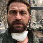 Gerard Butler Shares Shocking Photo of His Home That Burned Down in California Fire