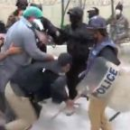 Pakistani Doctors Beaten, Arrested as They Protest Lack of Protective Equipment