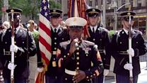 Sgt. Lashawn Jasper sings National Anthem for Flag Day